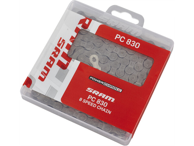 SRAM PC-830 Bicycle Chain 8-fold silver